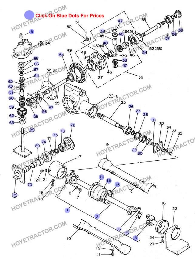 Yanmar 1300d Tractor Parts : Wd internal yanmar tractor parts