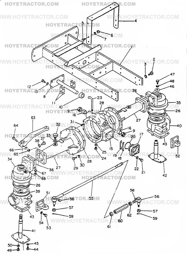 External Parts Of A Tractor : Wd external g yanmar tractor parts