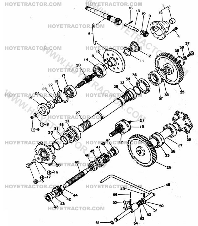 ford 3000 steering diagram html