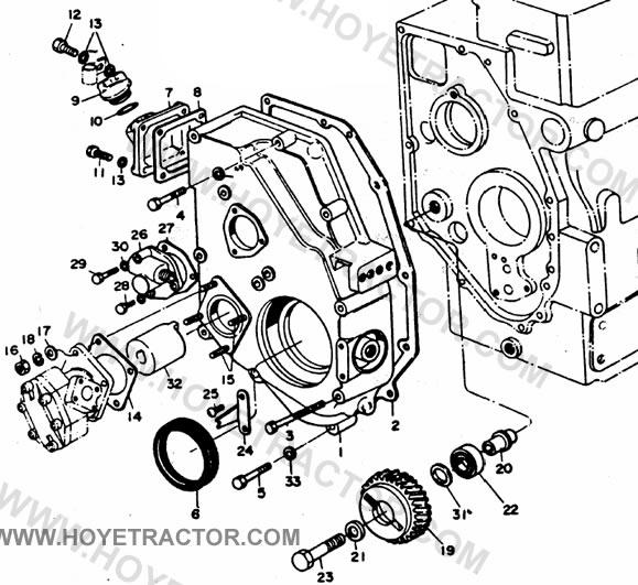 gear case  yanmar tractor parts