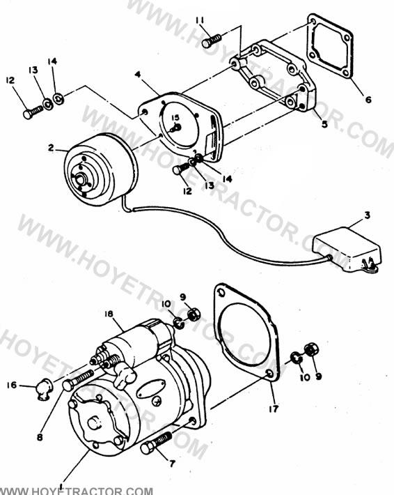 Starting  U0026 Charging  Yanmar Tractor Parts