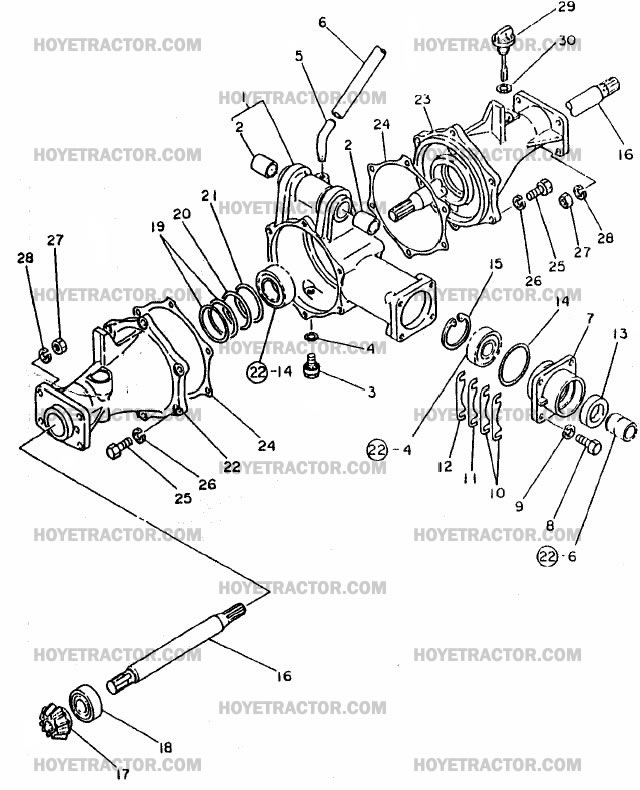 External Parts Of A Tractor : Wd external yanmar tractor parts