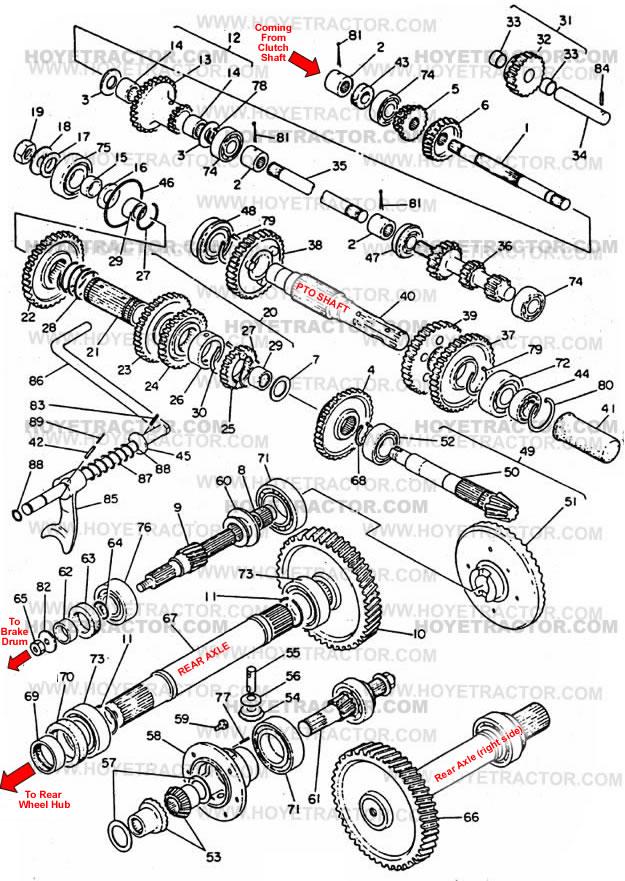 yanmar 1700 tractor parts