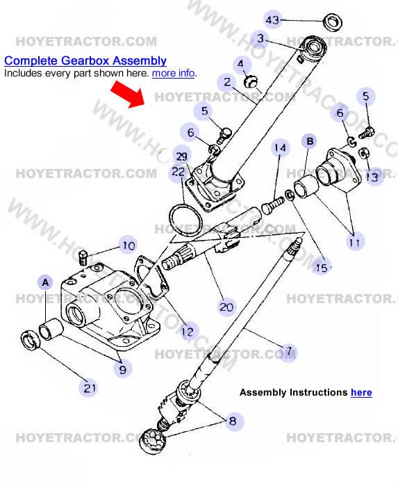 STEERING ^: Yanmar Tractor Parts