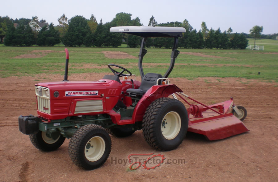 yanmar 1610 compact tractor