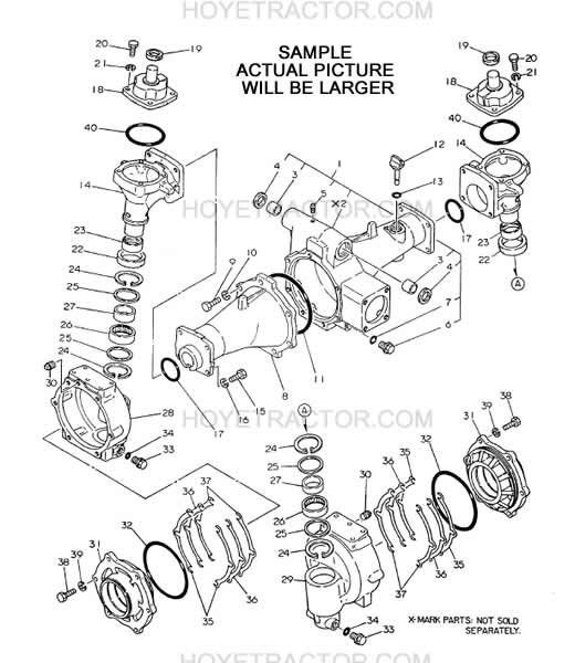 this manual is extremely helpful because of the exploded views