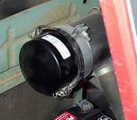 Yanmar tractor air filter service