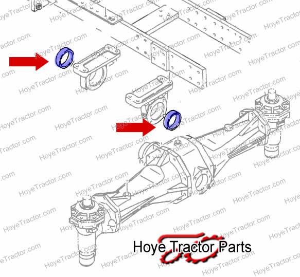 Axle Pivot Bushing Yanmar Tractor Parts