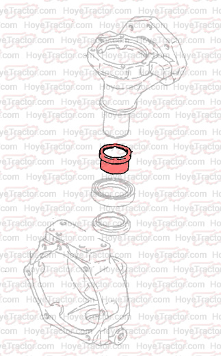 Frt Axle Wear Sleeve  Yanmar Tractor Parts
