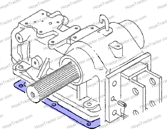 Hyd Cover Gasket    Yanmar Tractor Parts