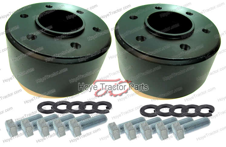 Rear Axle Wheel Spacers!! New Product - Yanmar Tractor Support