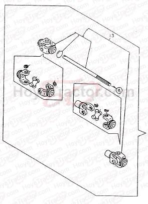 Yanmar Tractors: Yanmar-169D-Front-Drive-line-