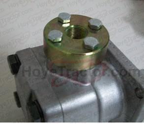 Hydraulic adapter add a loader log splitter yanmar for Hydraulic pump motor adapter