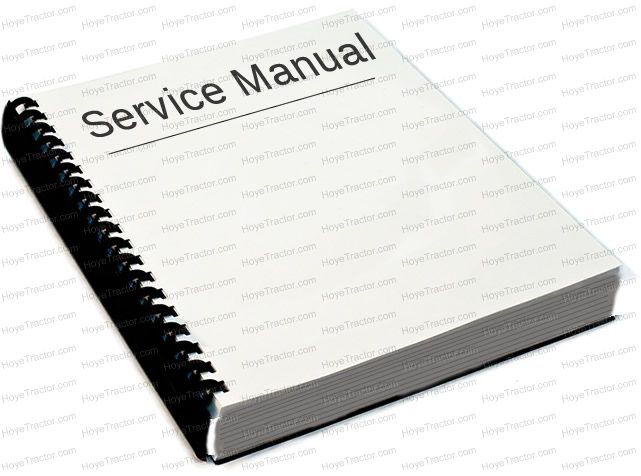 Service Manual F Series  Yanmar Tractor Parts