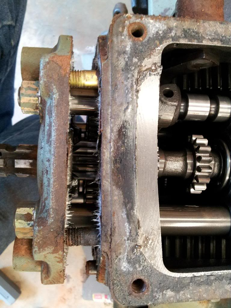 Yanmar Rear Axle Seal Replacement